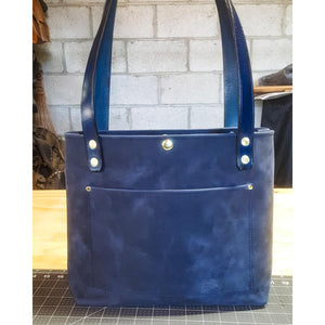 Beautiful Pull up Leather Tote