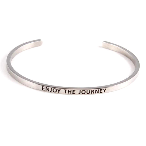 'Enjoy The Journey' Positive Vibes Bracelet