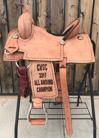 Maverick Trophy Barrel Saddle MSTBR-011