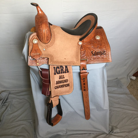 Maverick Trophy Barrel Saddle MSTBR-013