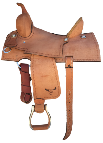 Maverick Economy Barrel Saddle MSBR-006