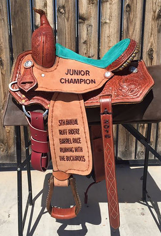 Maverick Trophy Barrel Saddle MSTBR-001