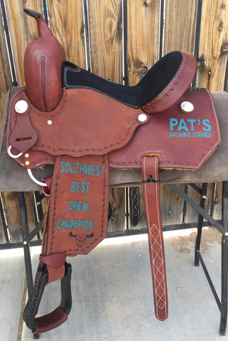Maverick Trophy Barrel Saddle MSTBR-010