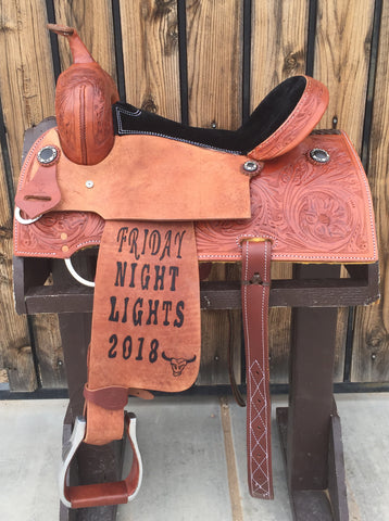 Maverick Trophy Barrel Saddle MSTBR-009
