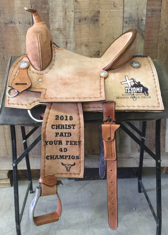 Maverick Trophy Barrel Saddle MSTBR-007