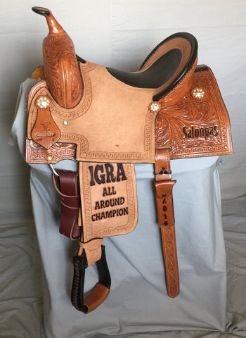 Maverick Trophy Barrel Saddle MSTBR-005