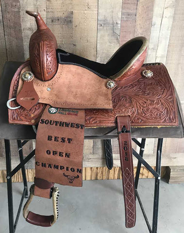 Maverick Trophy Barrel Saddle MSTBR-002