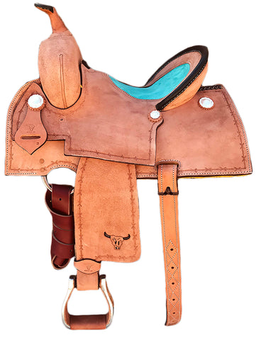 Maverick Economy Barrel Saddle MSBR-004