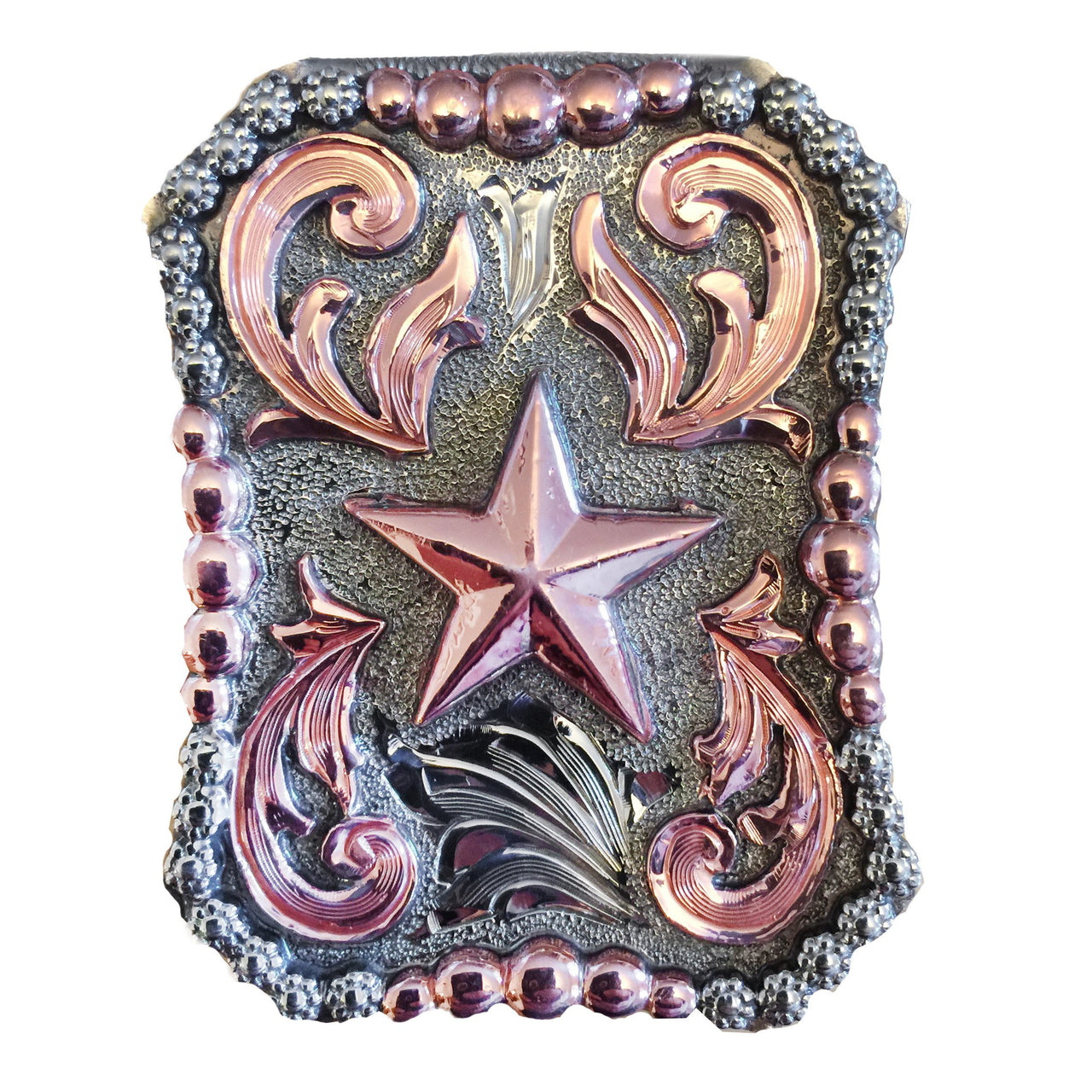 Copper Texas Star Money Clip