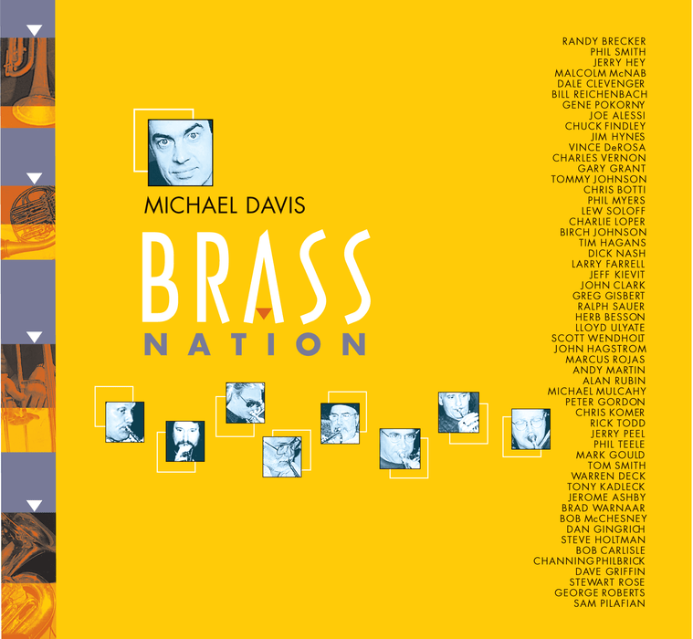 Brass Nation CD front cover