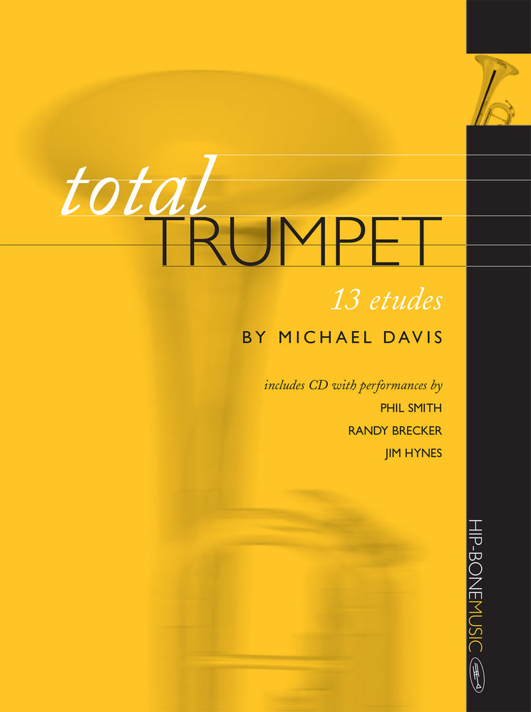 Total Trumpet 13 Etudes cover