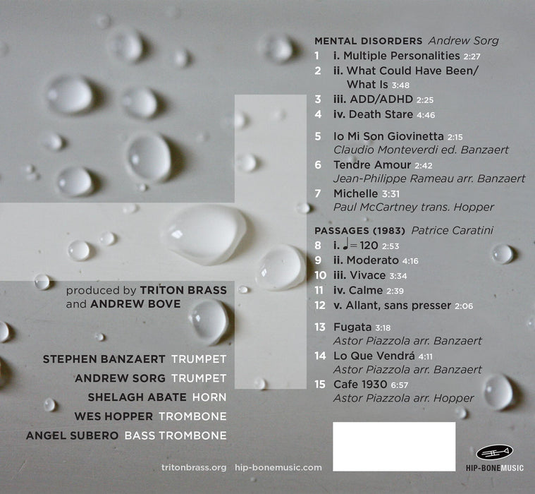 Triton Brass CD back cover