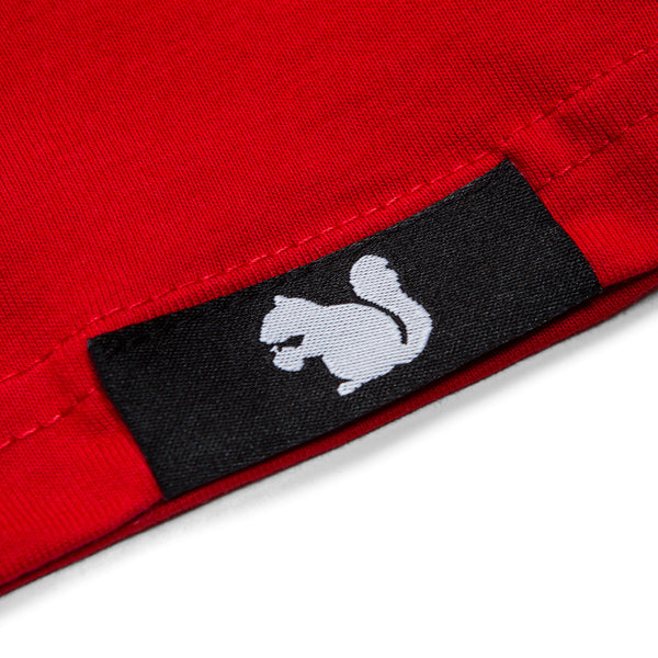 Squirrel Master T-Shirt (Red)