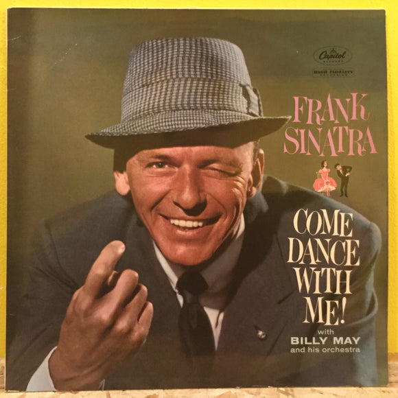 Frank Sinatra - Come Dance With Me! - LP - jazz