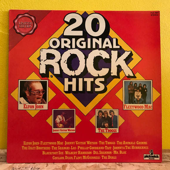 20 Original Rock Hits - LP - Compilation