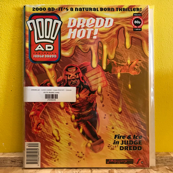 2000AD_eal - comics combo - issues 934/935 - 2000AD