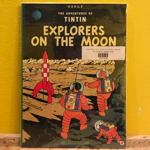 Graphic Novel - Tintin - Explorers On The Moon - Mammoth
