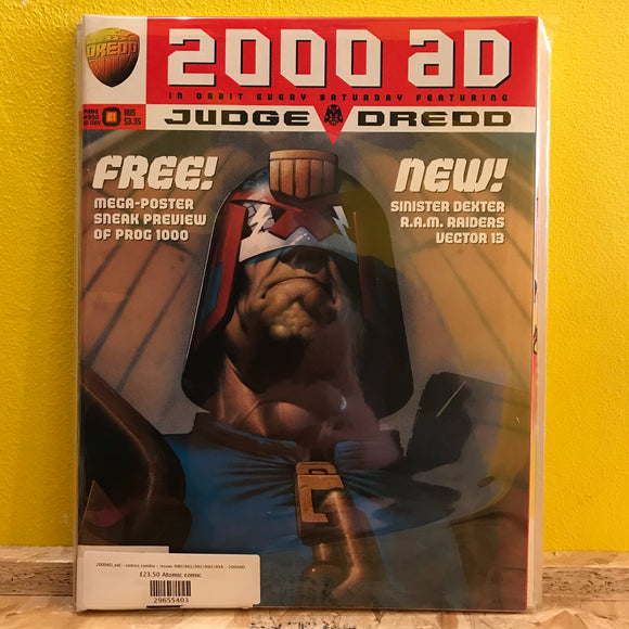 2000AD_eal - comics combo - issues 990/991/992/993/994 - 2000AD