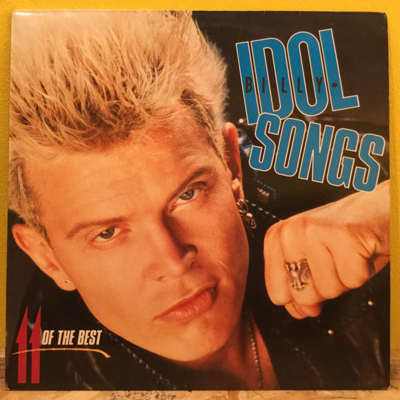 Billy Idol - 11 Of The Best Songs - LP - new wave