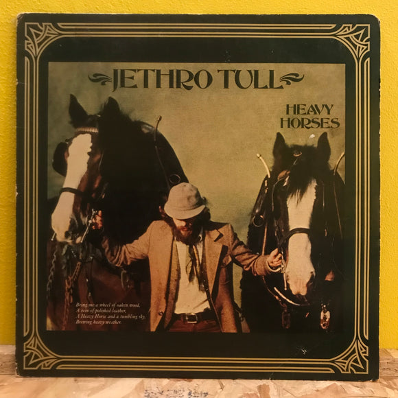 Jethro Tull - Heavy Horses - LP - Folk Rock