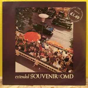 "Souvenir OMD - Extended - 10"" - synth pop"