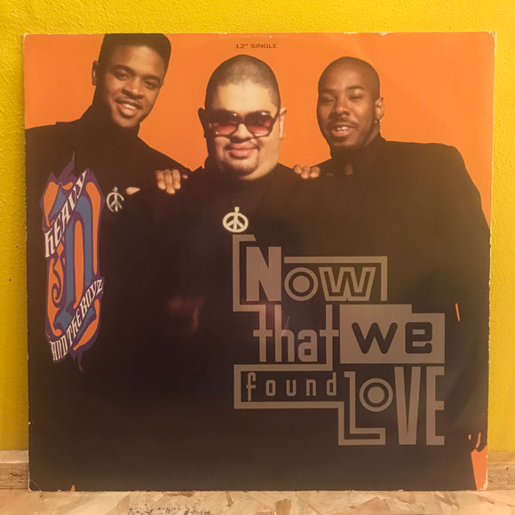 Heavy D and the Boyz - Now that we Found Love - 12