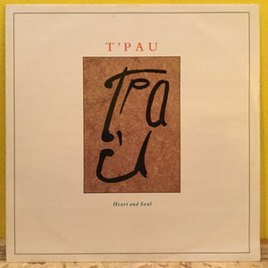 "T'Pau - Heart and Soul - 12"" single - synth pop"