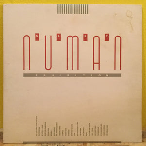 Gary Numan-Exhibition-New Wave - Double LP