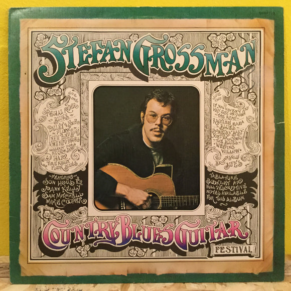 Stefan Grossman - Country Blues Guitar Festival - LP