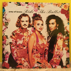 "Army of Lovers - Ride The Bullet - 12"" single - synth pop"