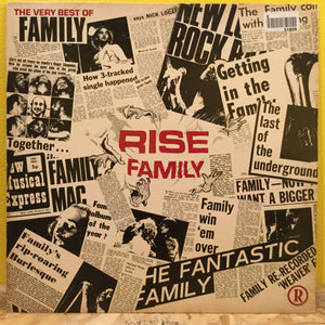 Family - Rise The Very Best of - LP - rock