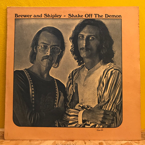 Brewer and Shipley - Shake Off The Demon - LP - Folk Rock