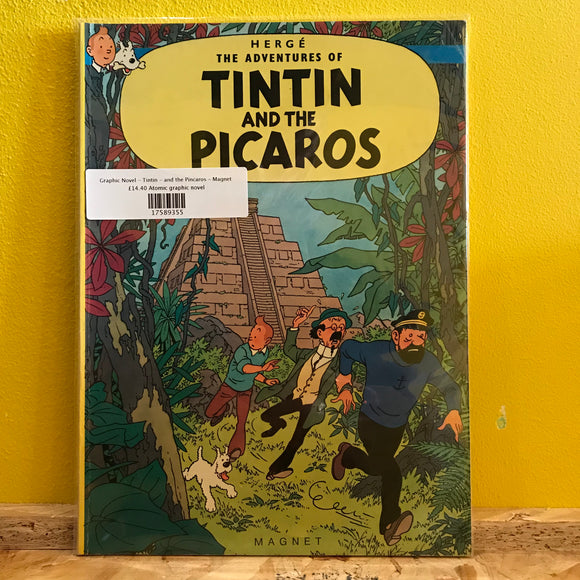 Graphic Novel - Tintin - and the Pincaros - Magnet