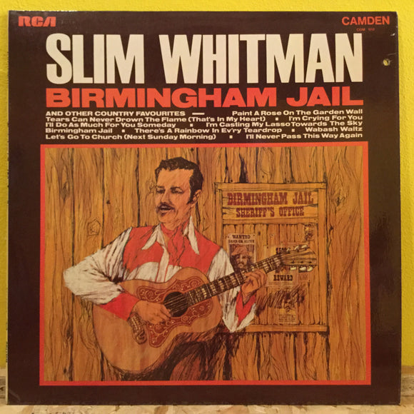 Slim Whitman - Birmingham Jail - LP - country