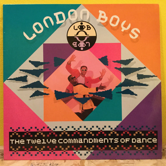 London Boys - The 12 Commandments... - LP - synth pop