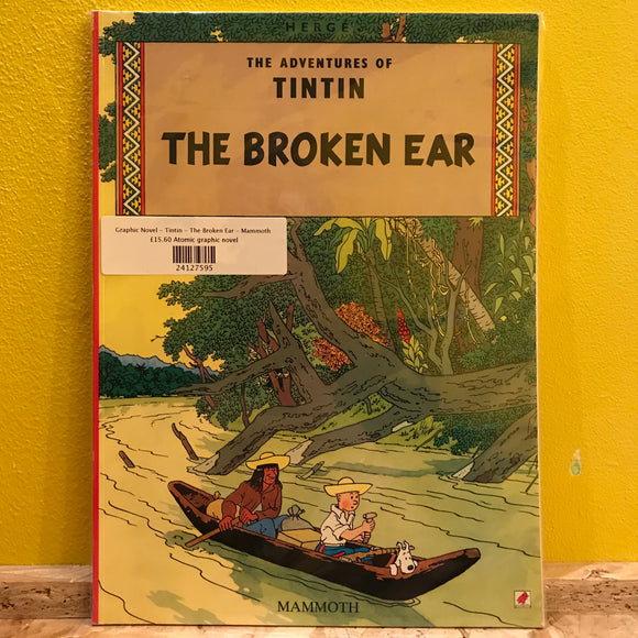 Graphic Novel - Tintin - The Broken Ear - Mammoth