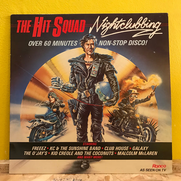 Various - The Hit Squad - LP - disco