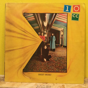 10cc - Sheet Music - LP - rock