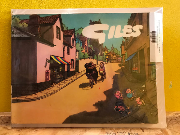 Cartoon Book - Giles - 1960/61