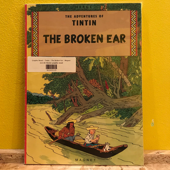Graphic Novel - Tintin - The Broken Ear - Magnet