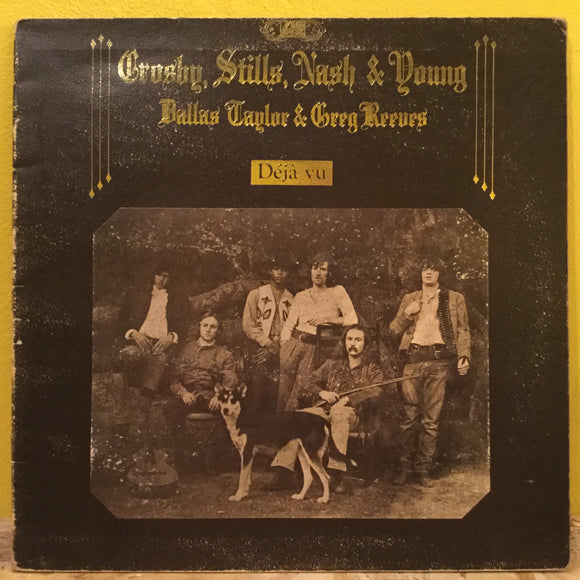 Crosby, Stills, Nash & Young - Déjà vu - LP - Rock
