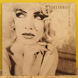 Eurythmics - Savage - LP - synth pop