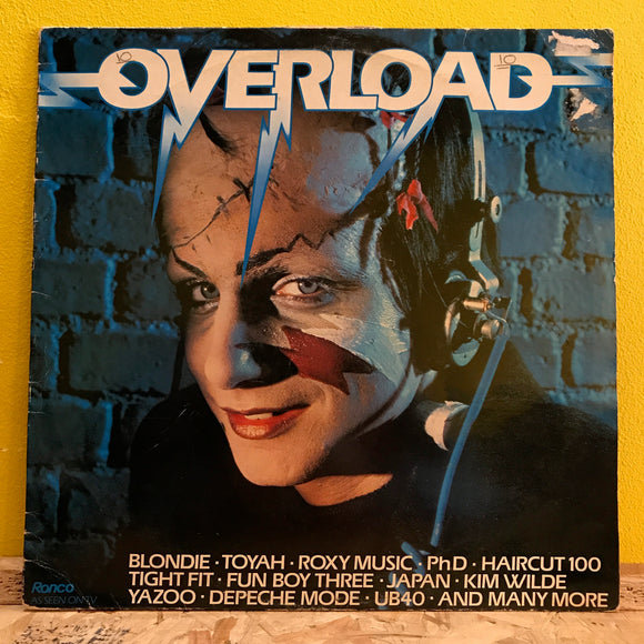 Various ‎– Overload - LP - compilation