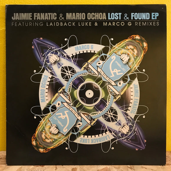 Jamie Fanatic & Mario Ochoa - Lost & Found - EP - house