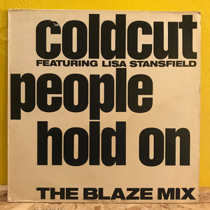 Coldcut feat Lisa Stansfield - Hold On - house