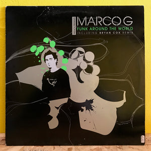 "Marco G - Funk Around The World - 12"" - techno"