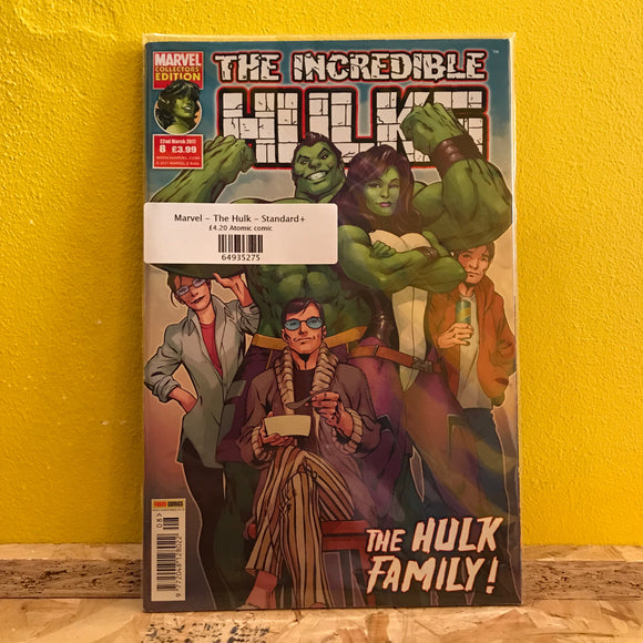 Marvel - The Incredible Hulks - comics - (Issue 08) - Collectors Edition