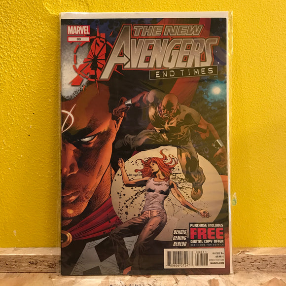 Marvel - The New Avengers: End Times - Comic - (Issue 33)
