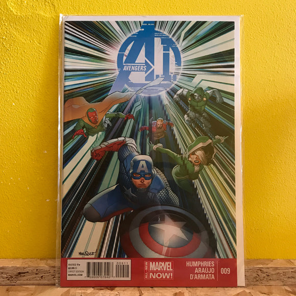 Marvel - Avengers A.I. (2013) - Comics - (Issue 09)