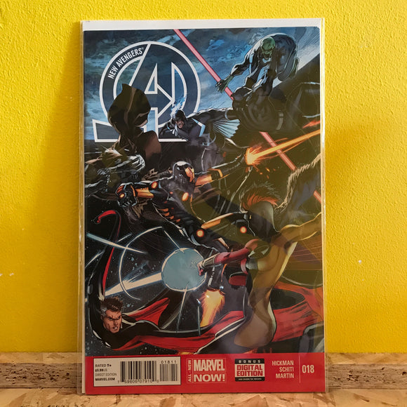 Marvel -  New Avengers (2010 2nd Series) - Comics - (Issue 18)